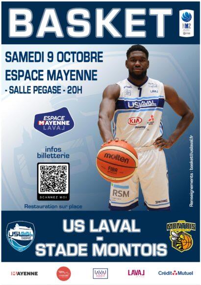 Affiche USL Basket Stade Montois
