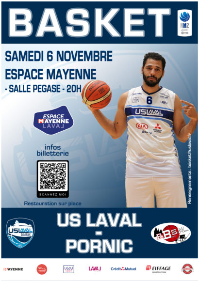 Affiche USL Basket Pornic